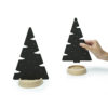 Winter Forest jewelry tree wood x`mas ring necklace earring pine metal black white Gift Home décor ต้นคริสมาส ต้นไม้ เครื่องประดับ ของขวัญ