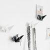 Origami Early Bird hanger key holder envelope metal black white Gift Home décor wall décor นก ที่แขวนของ กุญแจ กระดาษ จดหมาย เหล็ก ขาว ดำ เบจ ตกแต่งผนัง ตกแต่งบ้าน ของขวัญBird hanger key holder envelope holder metal black white wall décor นก ที่แขวนของ แขวนกุญแจ กระดาษ จดหมาย เหล็ก ขาว ดำ เบจ ตกแต่งผนัง
