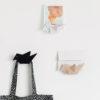 Origami Early Bird hanger key holder envelope metal black white Gift Home décor wall décor นก ที่แขวนของ กุญแจ กระดาษ จดหมาย เหล็ก ขาว ดำ เบจ ตกแต่งผนัง ตกแต่งบ้าน ของขวัญ