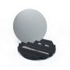 summer sunset mirror tray stainless season metal black white mirror ถาด กระจก เครื่องประดับ ตกไม่แตก ตกแต่งบ้าน