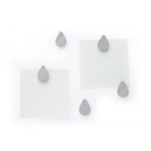 Come rain come shine magnet stainless mirror Gift stationery แม่เหล็ก หยดฝน แวววาว