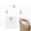Come rain come shine magnet stainless mirror Gift stationery แม่เหล็ก หยดฝน แวววาว