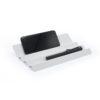 wave stationery desert phone holder tray accessory metal black white Gift work office คลื่น มือถือ เครื่องเขียน ถาด ของขวัญ เหล็ก ดำ ขาว ของตกแต่งบ้าน
