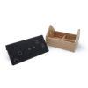 Secret Garret roof jewelry box house wood magnetic lock metal black white Gift Home décor บ้าน หลังคา เครื่องประดับ ของขวัญ เหล็ก ไม้ ขาว ดำ น้ำท่วม