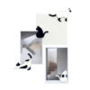 Siamese Cat magnet Thai board metal white black orange pet lover Thailand sakura brand collaboration Painted removed แมว สยาม ไทย โชคดี ความเชื่อ เพ้นท์ ลบ สร้างสรรค์ แม่เหล็ก เครื่องเขียน